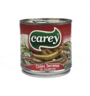 Serranos Enteros 380g Carey