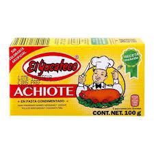 Achiote 100g El Yucateco