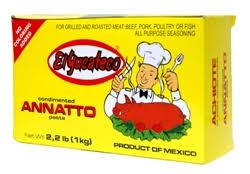 Achiote 1kg El Yucateco