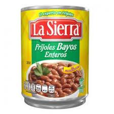 Frijol Bayo Entero 560g La Sierra
