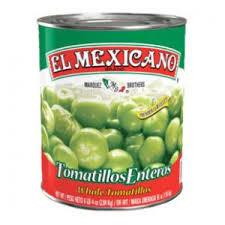 Tomatillo Entero 2.840kg El Mexicano
