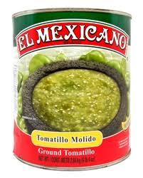 Tomatillo Molido 2.8kg El Mexicano